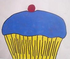 Pin the cherry on the cupcake