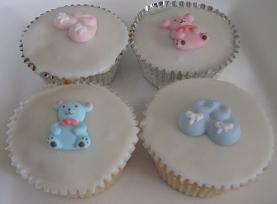 Baby Shower Cupcakes, Baby Shower Cupcake Ideas
