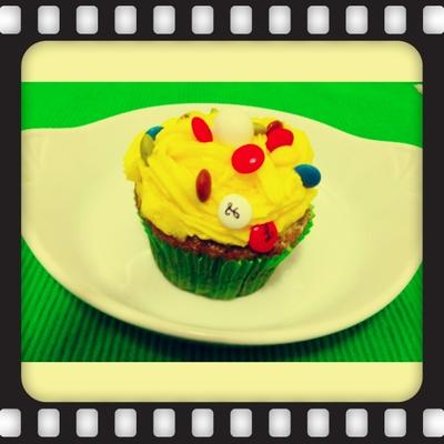 Choco cupcake with butter frosting