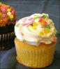 Vanilla cupcake Free Clip Art