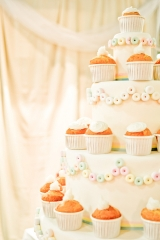 cucpake wedding cake